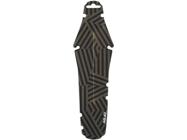 XLC MG-C32 Guardabarros Mini Rueda Trasera, negro/beige